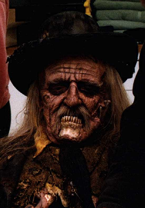 """John Astin as """"the Judge"""" in THE FRIGHTENERS"""